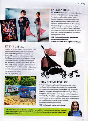 Liv magazine mentioned Enjoy Citizz