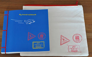Kids travel Notebook from Aoyama and Enj