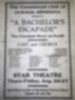 a bachelors escapade star 8 26 1923 comm