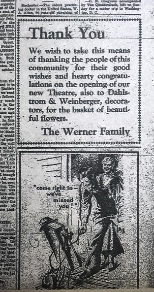 thanks you werner family ad 1933.jpg