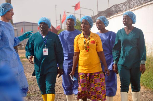 Victory in Liberia
