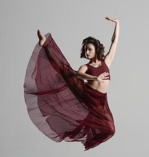Dynamic Dancer-Performer Aurélie Garcia's Arresting Style