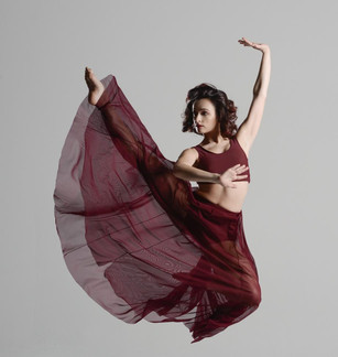 Dynamic Dancer-Performer Aurélie Garcia's Arresting Style