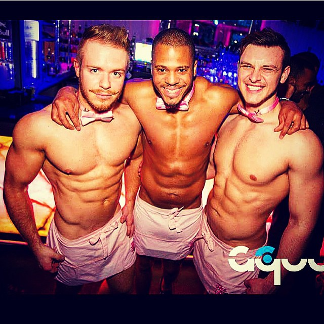Instagram - #thepinkbutlers killin it every 2nd Friday of the month at #aquum #clapham @bobby_rocket