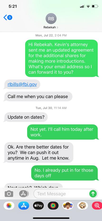 FBI - Special Agent Rebekah Bills confir