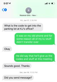 FBI Special Agent Rebekah Bills requesti