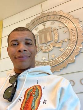Derek Bluford at FBI Roseville Office.JP