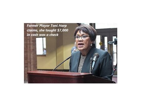 """The former mayor of New Haven responds to book publication. """"I thought it was a check she claims."""""""