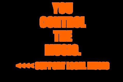 6x4 mixtape bucket YOU CONTROL THE MUSIC