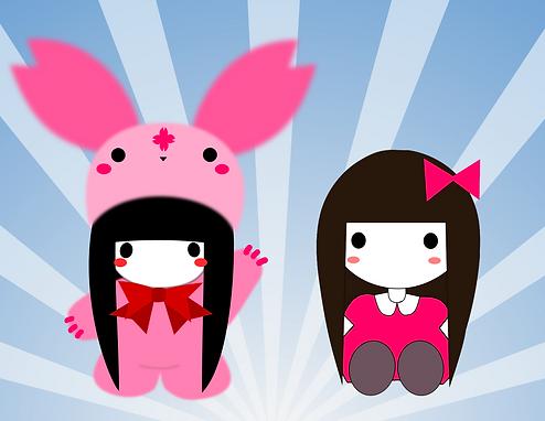 Mini Chii and Sakurabbit