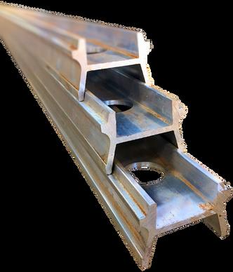 H Shaped, stackable aluminium posts