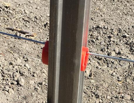 Aluminium Post with Twistie Insulator