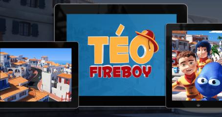 Jeu intéractif : Téo Fireboy