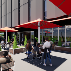 Heaver Plaza Proposed Cafe