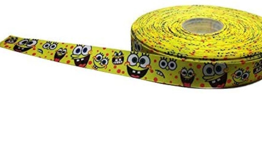 "1"" Collar,Martingale,or Leash SpongeBob"