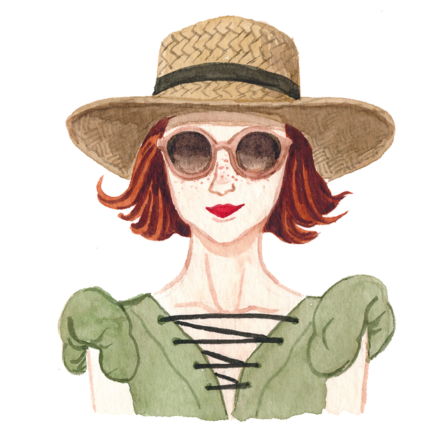 Girl With Hat.tif