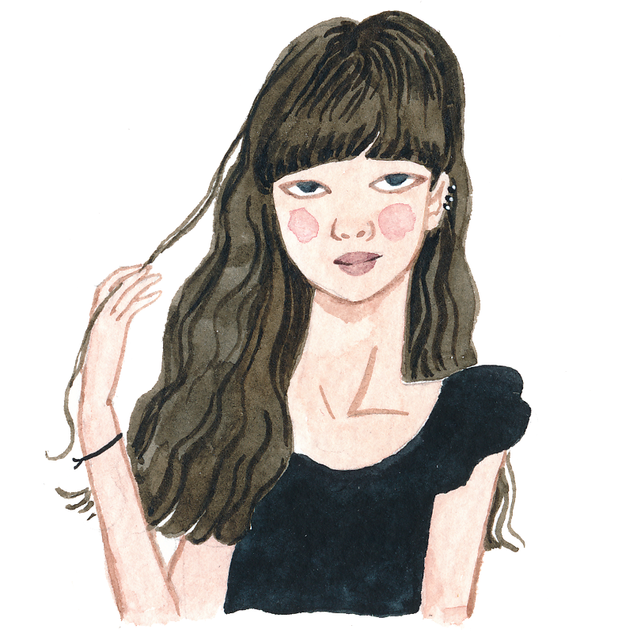 Girl With Brown Hair.tif