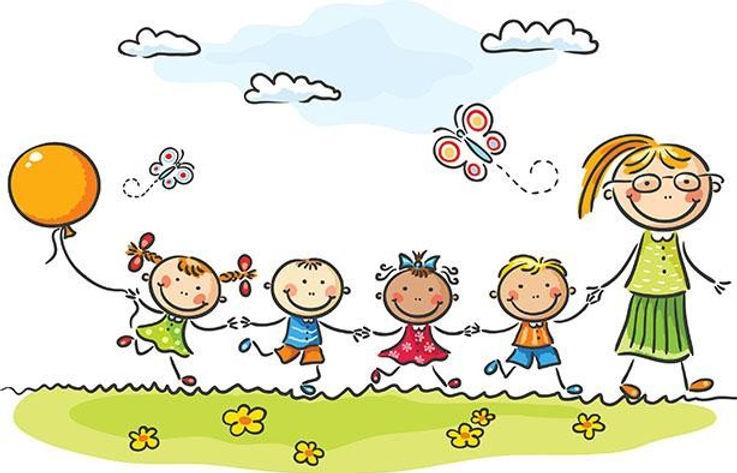 Kids at childcare & preschool