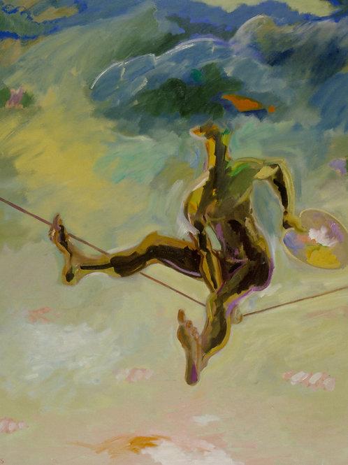 The Painter, Oil on Canvas, 156cm x 186cm