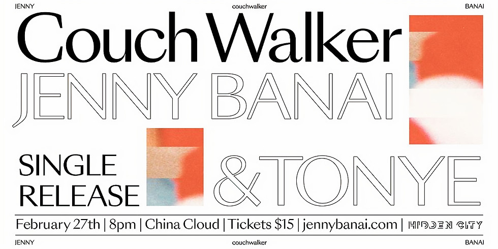 Jenny Banai & Tonye :: Couch Walker Single Release