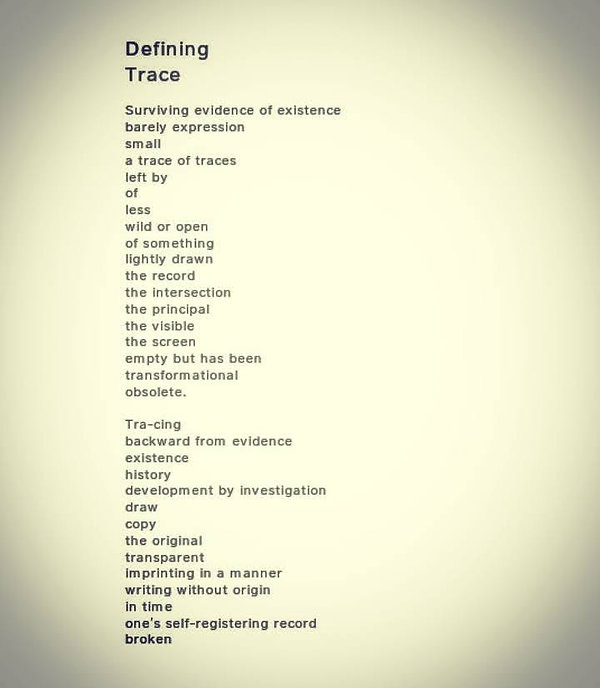 Defining Trace (2020)