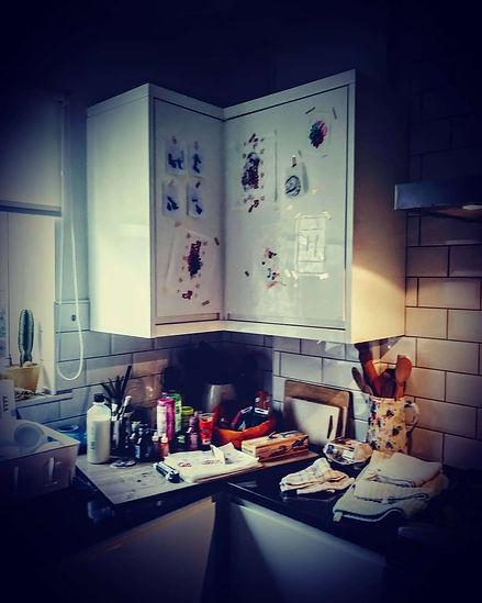Kitchen as Studio as Gallery