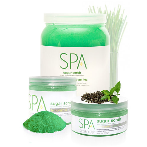 Sugar Scrub Lemongrass & Green Tea 8oz