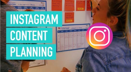 Content Planing Instagram
