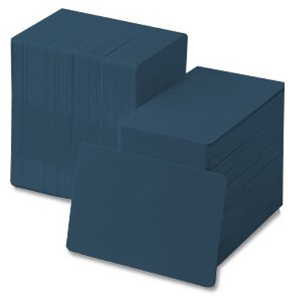 Dark Blue PVC Cards - Box of 500
