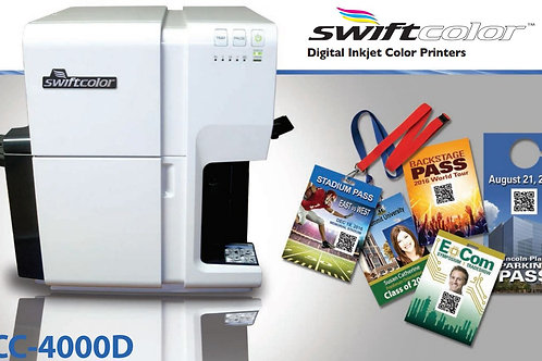 SwiftColor SCC-4000D Oversize Credentials Printer