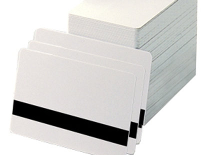 White PVC Cards - Box of 500 Hi Co Mag Stripe
