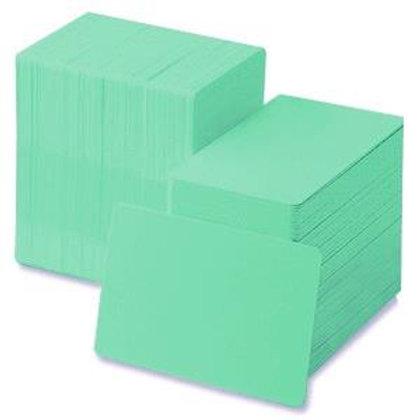 Light Green PVC Cards - Box of 500