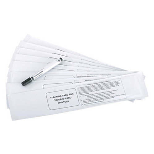 Cleaning Card Kit 10 Cards 1 Pen