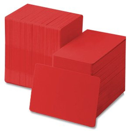 Red PVC Cards - Box of 500