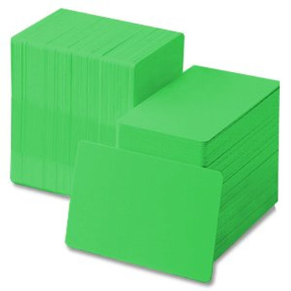 Green PVC Cards - Box of 500