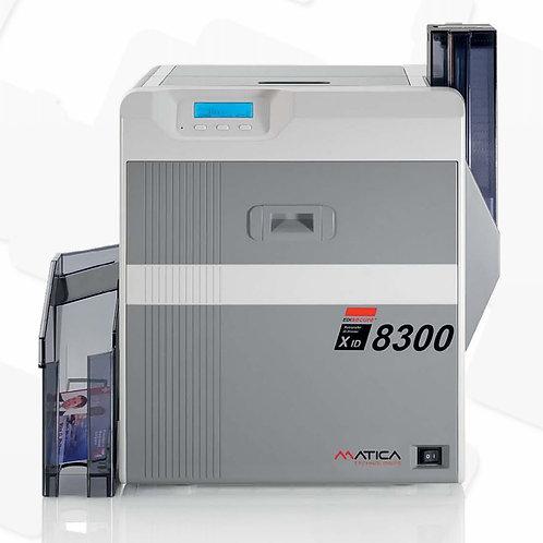 Matica Edisecure XID8300 Re-Transfer Card Printer