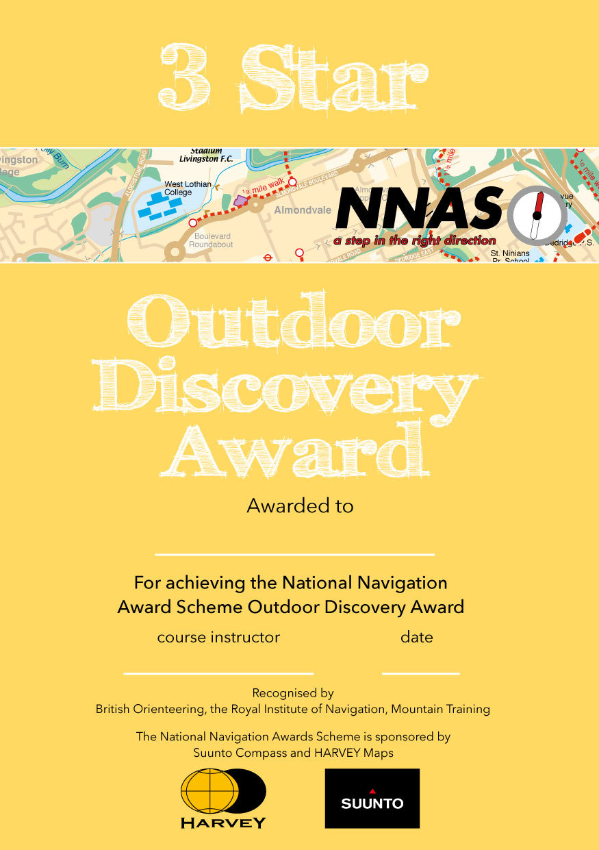 1x Group- Outdoor Discovery Award 3*
