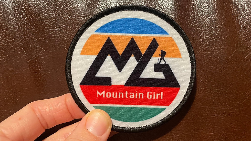 "5"" 'Mountain Girl' Patch"