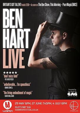 Ben Hart Live