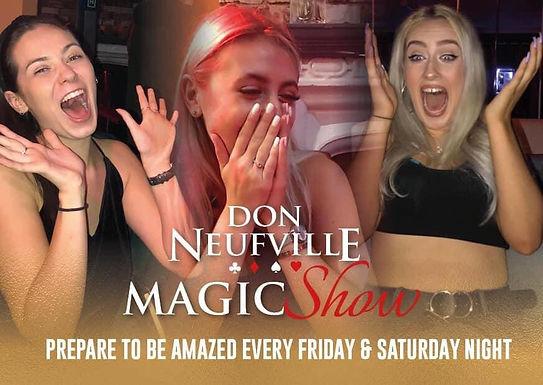 Don Neufville Magic Show
