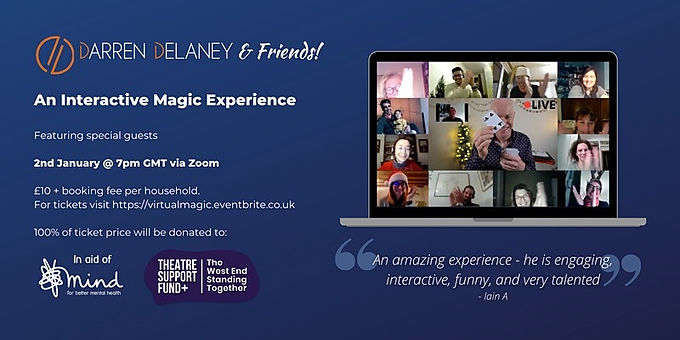 Darren Delaney And Friends: An Interactive Magic Experience