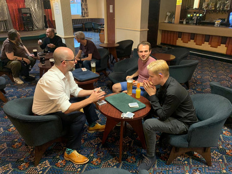 Club Night Report - 15/09/21 - Our New Club Room!