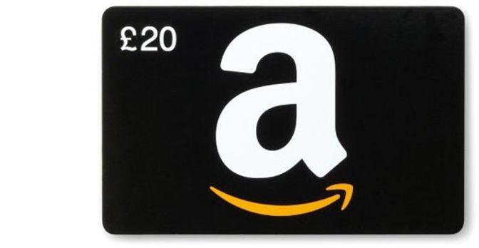 £20 Amazon Voucher Prize Draw Winner