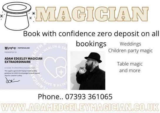Adam Edgeley Magician