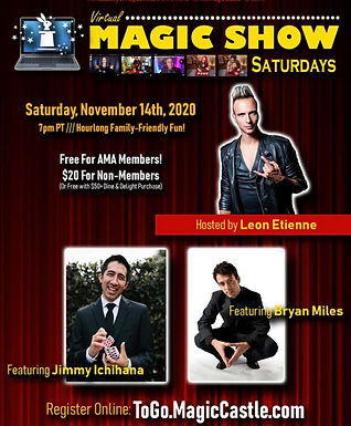 Magic Castle Online Zoom Show
