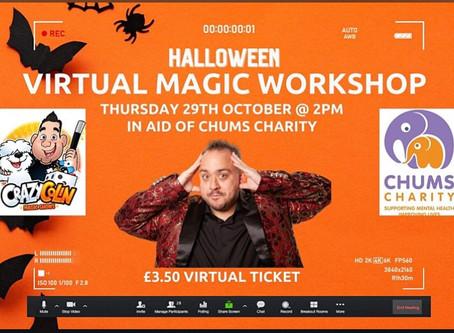 Crazy Colin's Virtual Magic Workshop - Online