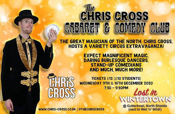 Chris Cross Pop Up Shows