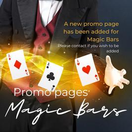 Magic Seats Promo Page - Magic Bars
