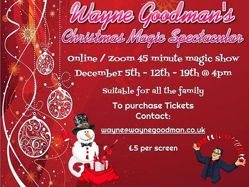 Wayne Goodman Online Zoom Shows