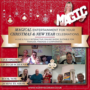 Kerry Scorah Christmas And New Year Shows